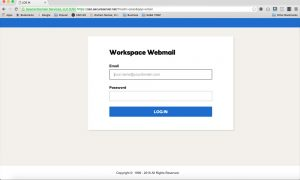 Workspace Email Setup For Mobile